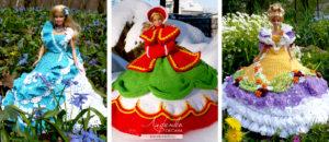 Платья для кукол Барби по дизайну Анни Поттер