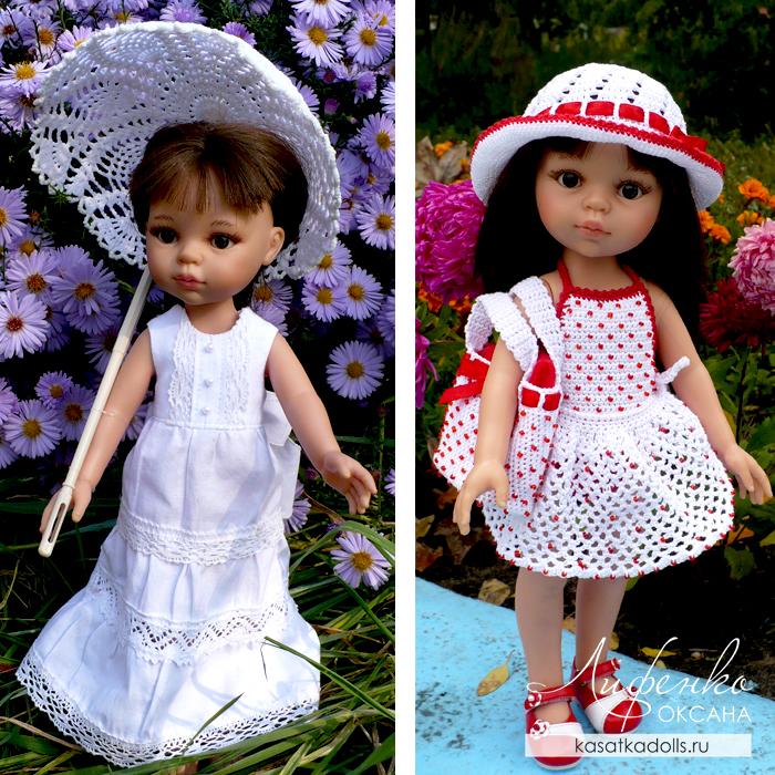 Первые работы для куклы Paola Reina