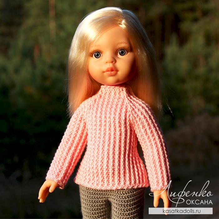 свитер для кукол