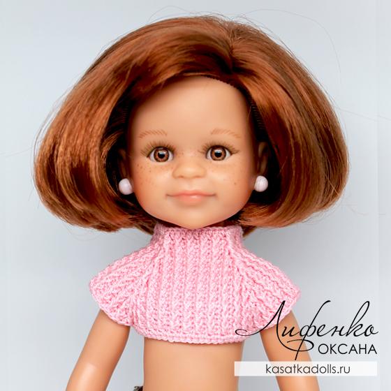 свитер для куклы крючком