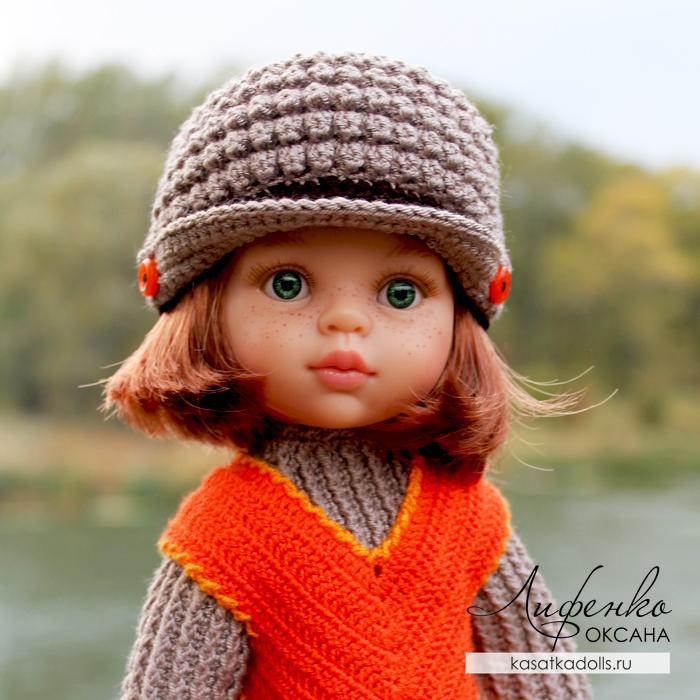 Кепка для кукол