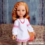 Шьем платье-рубашку для кукол