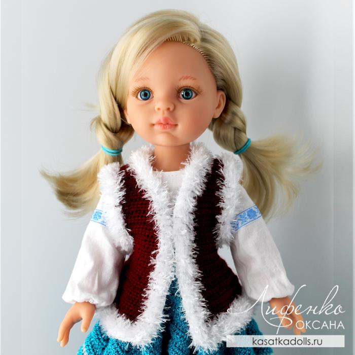 Жилетка для кукол