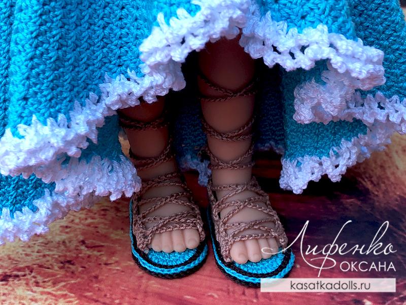 сандалии для кукол