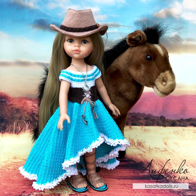 Описание для кукол Паола Рейна «Хозяйка Прерий»