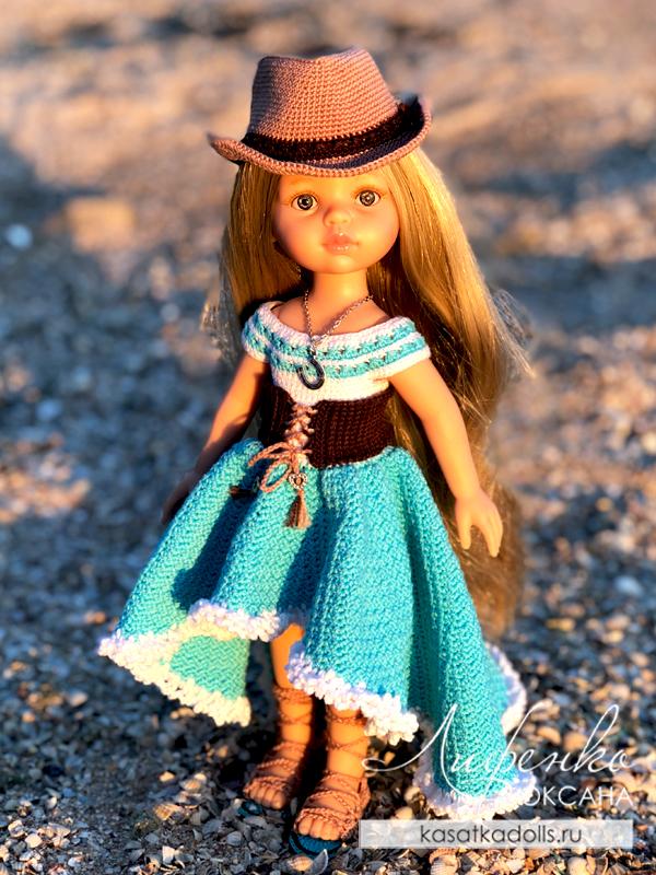 нарядное платье для кукол