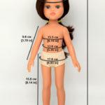 Мерки, обзор и сравнение супер нового тела кукол Паола Рейна
