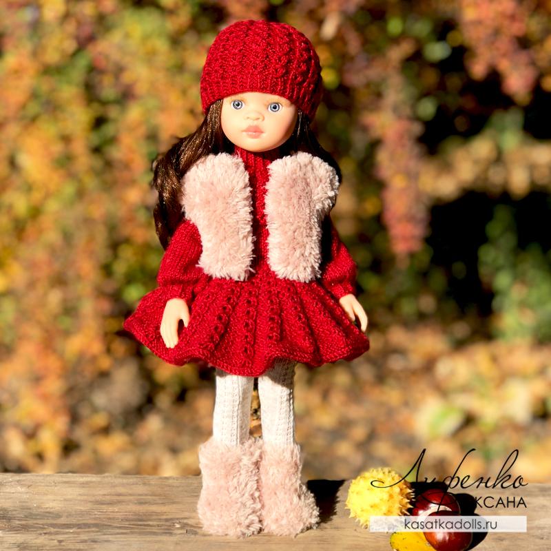 Наряд «Октябринка» для кукол Паола Рейна