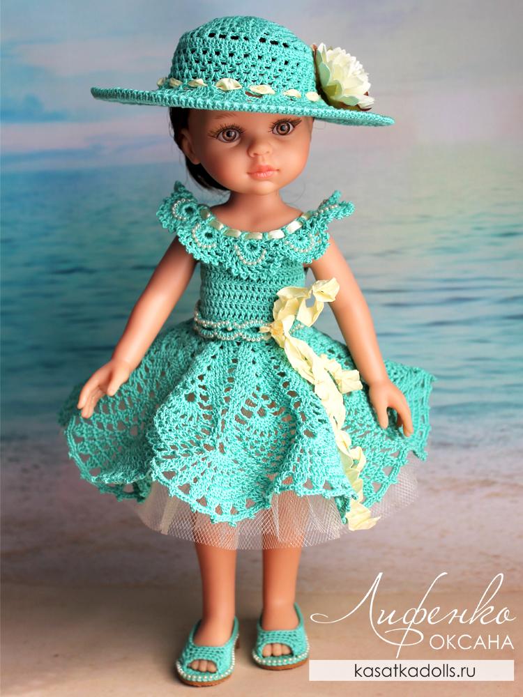 Мастер-класс по вязанию для кукол Паола Рейна