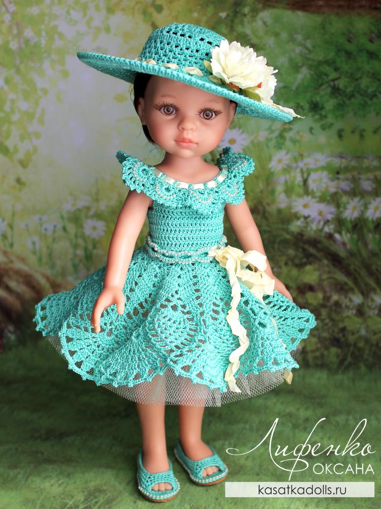 описание вязания крючком для кукол