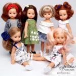 Обзор и мерки кукол MiniAmigas — новинка 2019 от Паола Рейна!