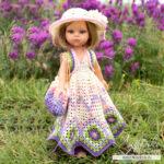 МК по вязанию крючком для кукол Паола Рейна «Вечер в Провансе»