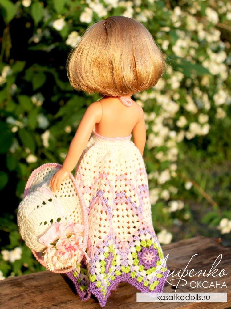 сарафан для кукол