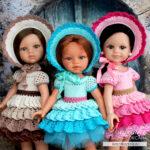 МК «Макаруны» по вязанию крючком для кукол Паола Рейна