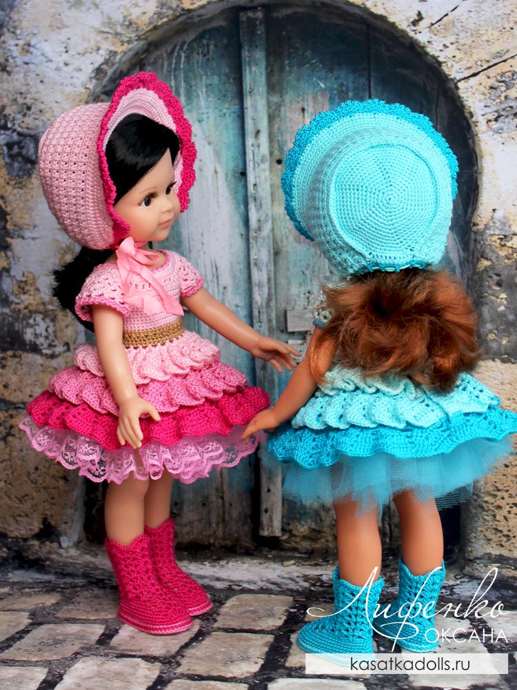 Капор для куклы Паола Рейна