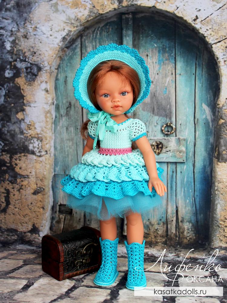 Сапожки для куклы крючком мастер-класс