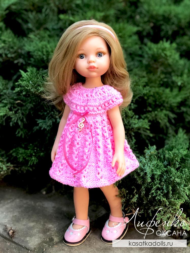 вязание спицами для кукол Паола Рейна бесплатно