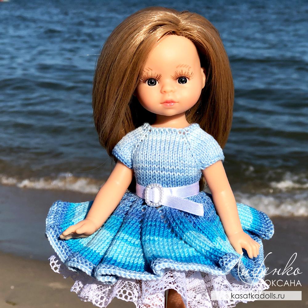 платье спицами для мини паола рейна