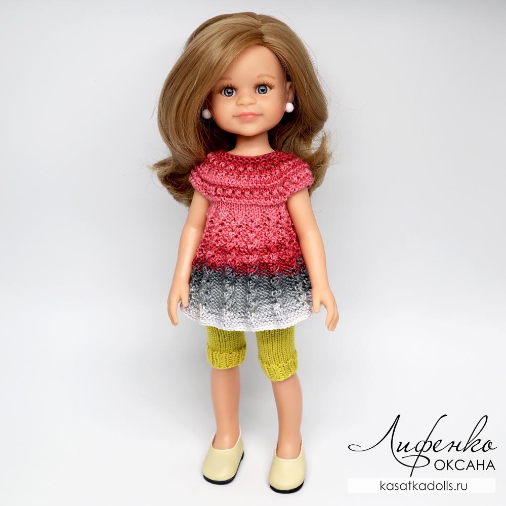 одежда спицами для кукол и игрушек амигуруми