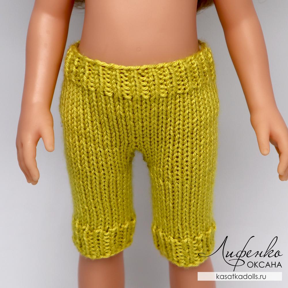 вязаные штанишки