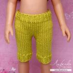 Вяжем лосины спицами для кукол Паола Рейна