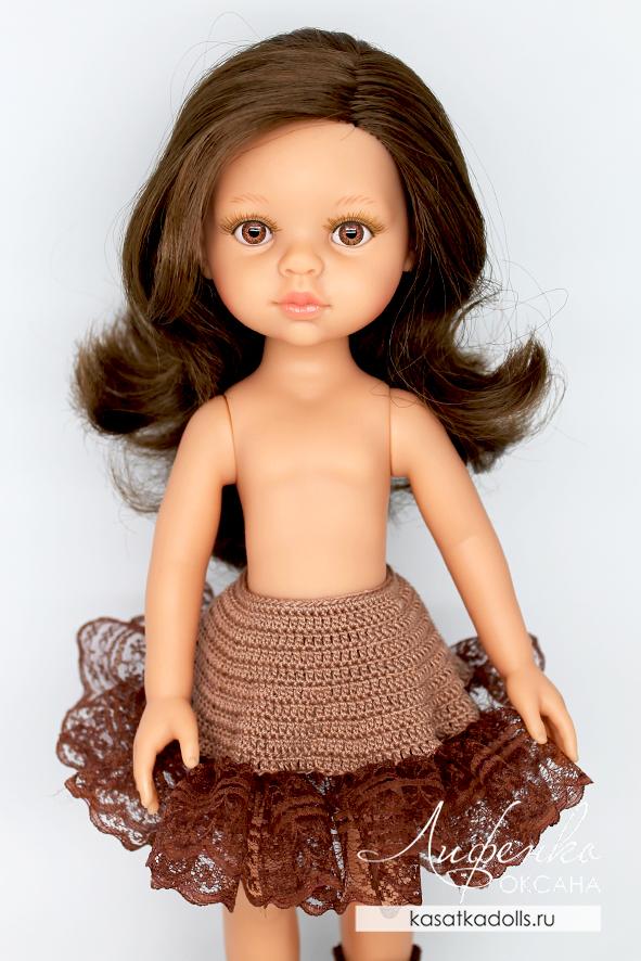 подъюбник для кукольного платья