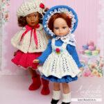Мастер-класс «Маленькие Барышни» для кукол 21 см
