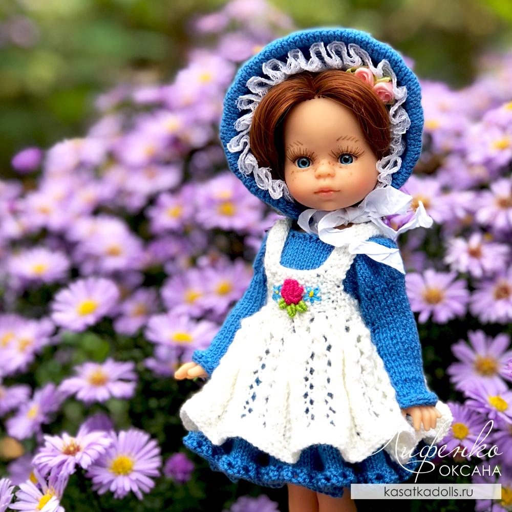 вязание спицами для кукол мини подружки амигас паола рейна 21 см и крузелингс