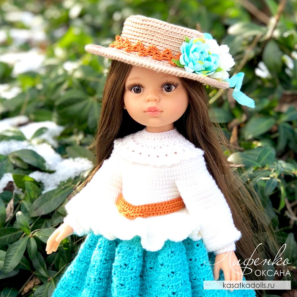 Вязание крючком для кукол 32 см Паола Рейна