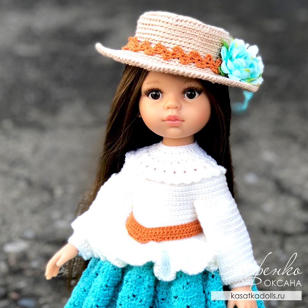 Шляпка для кукол Паола Рейна