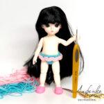 Видео урок: Вяжем трусики крючком для маленькой куклы