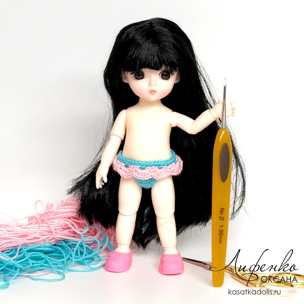 трусики для маленькой куклы Baboliy