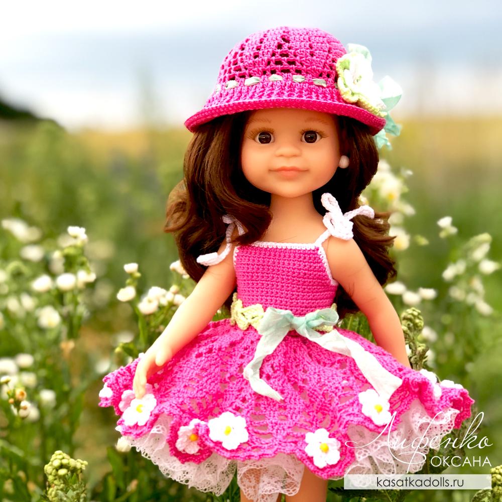 описание вязания для кукол Паола Рейна