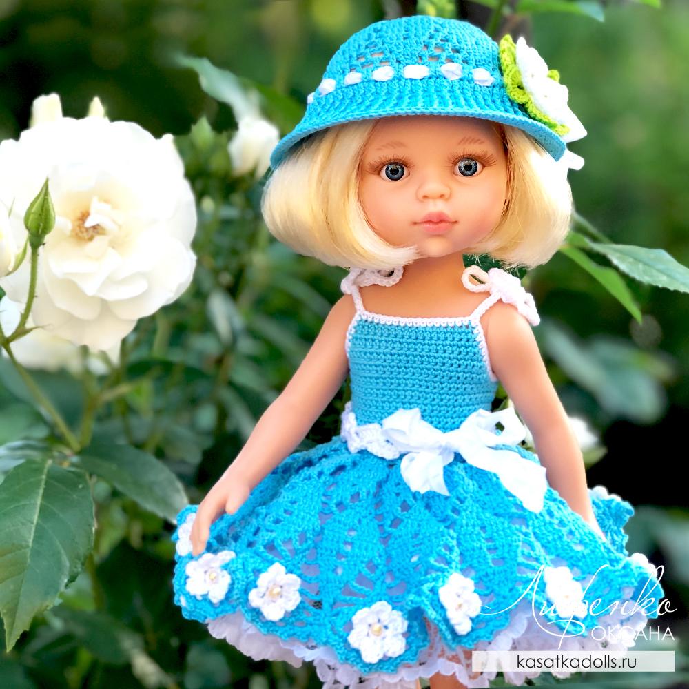 сарафан для куклы Паола Рейна