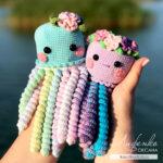 Добавим ножек! Вяжем медузу-перевёртыша и весёлого осьминога-антистресс