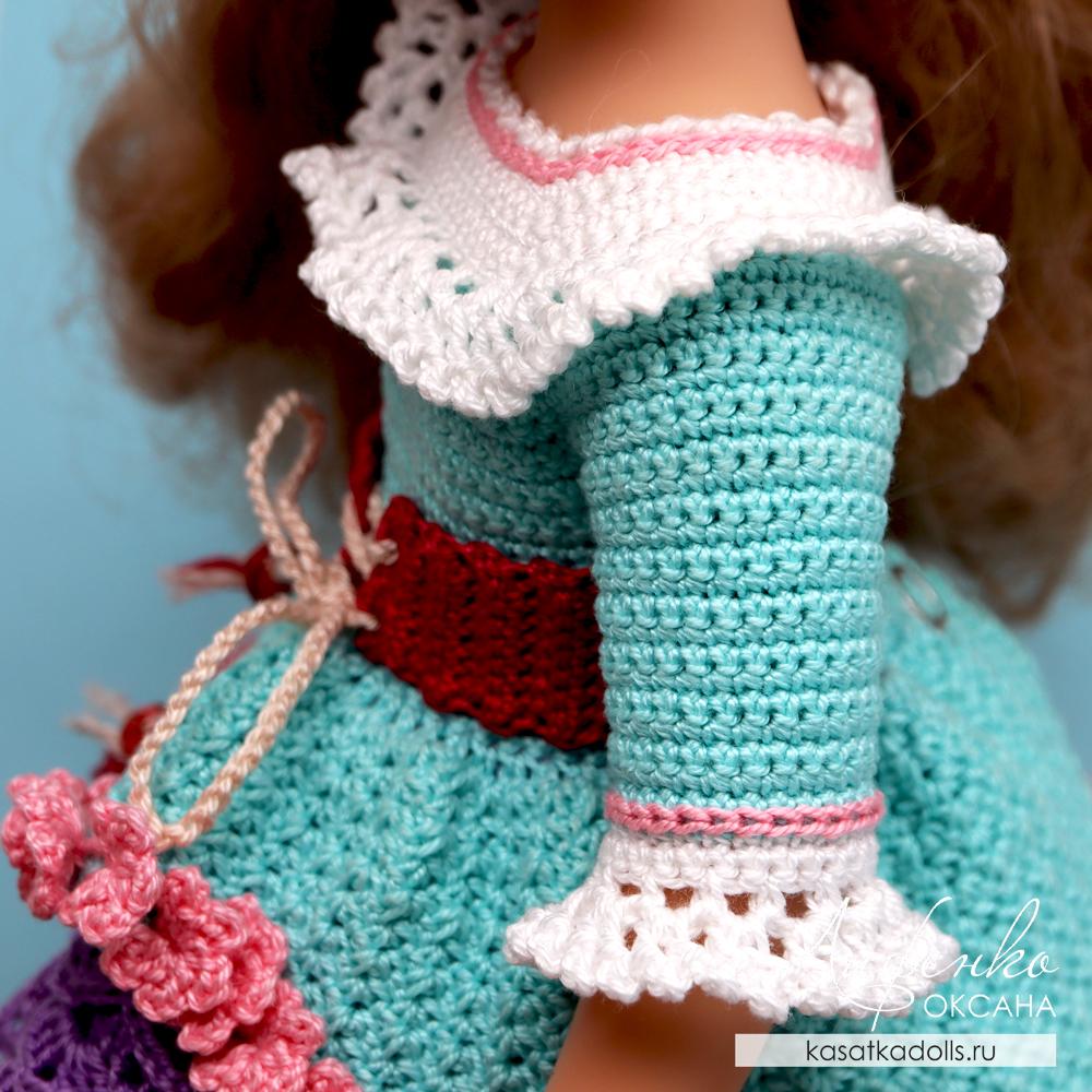 Мастер-класс по вязанию крючком для кукол Паола Рейна 32 см