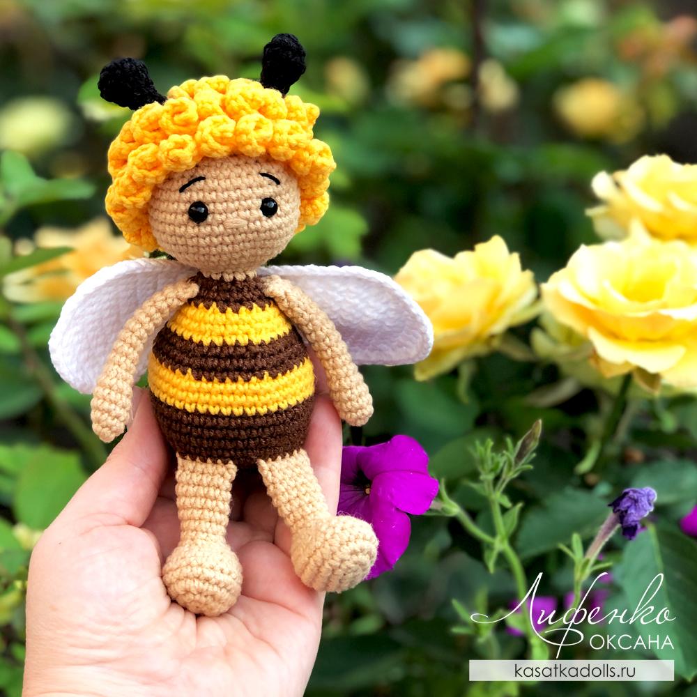 Мастер-класс Пчелка Мия крючком